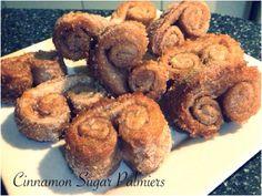 Cinnamon Sugar Palmiers Bellini Recipe, Cinnamon, Muffin, Cooking Recipes, Sugar, Cookies, Baking, Breakfast, Desserts