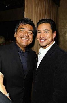 George Lopez & Mario Lopez <3
