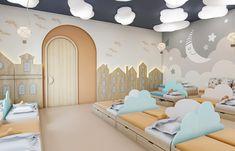 Daycare Design, Classroom Design, Kids Room Design, Kindergarten Interior, Kindergarten Design, Church Interior Design, Hospital Design, Kid Spaces, Kids Bedroom