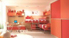 Cameretta Arancione E Rosa : Dearkids è una società italiana che produce camerette per bambini
