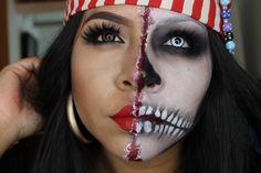 Tutorial de maquillaje Halloween: Mujer Pirata - Juancarlos960