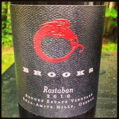 The Nittany Epicurean: 2010 Brooks Rastaban Pinot Noir
