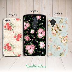 Vintage floral rose flower phone case for iPhone 6/4s/5/5s/5c, Samsung S5/Note4, Sony, LG Nexus, Nokia Lumia, HTC One, Moto X Moto G(K38)