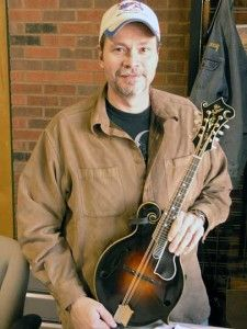 1922 Lloyd Loar F5 mandolin;  Owner:  Danny Roberts of the Grascals  - bluegrass