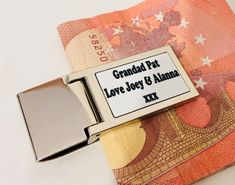Personalised Rectangular or round shape Money Clip personalized money clip money holder with your photo image initials These metal money clips are great for classy looking personalised gifts or promotional items. please send image by message thanks! Money Holders, Personalised Gifts, Money Clip, Your Photos, Initials, Shapes, Messages, Etsy, Image
