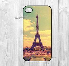 Eiffel Tower iphone 4 case iphone case 4s case 4 door DragonSashimi, $6.90