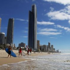 Sun, surf and sand at the beautiful Gold Coast! ☀
