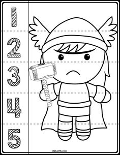 Preschool printables batman numbers preschool ii pinterest 1 teach counting skills with these superheroes great for teaching number recognition for numbers fandeluxe Choice Image