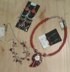 Corals and reds Corals, Charmed, Jewellery, Bracelets, Red, Fashion, Moda, Jewels, Fashion Styles