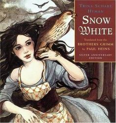 The Hardcover of the Snow White: Silver Anniversary Edition by Brothers Grimm, Trina Schart Hyman, Paul Heins, Wilhelm K. Grimm's Snow White, Snow White Book, Brothers Grimm Snow White, White Brothers, Fairytale Art, Children's Literature, Conte, Childrens Books, Illustrators