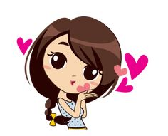Alice in College Animation – Stickers LINE Love Cartoon Couple, Cute Cartoon Pictures, Cute Cartoon Girl, Cute Love Cartoons, Flying Kiss Gif, Cute Little Drawings, Cute Love Images, Funny Emoji, Cute Cat Gif