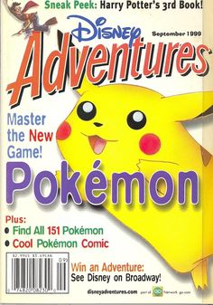 Click this image to show the full-size version. All 151 Pokemon, Cool Pokemon, Adventure Magazine, Pokemon Comics, Adventures By Disney, Let Them Talk, News Games, Presidents, Cool Stuff