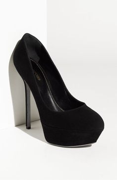 Sergio Rossi 'Uptown' Platform Pump..these are too cute
