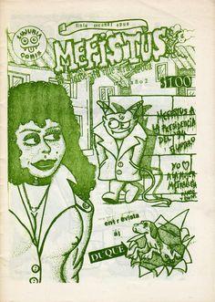 Mefistus N° 5  Quinto número del fanzine de cómics «Mefistus, El Héroe de Nuestra Epoca» publicado en Valdivia en 1991. Más información en http://bufoland.blogspot.com/2014/08/fanzine-mefistus-el-heroe-de-nuestra_20.html