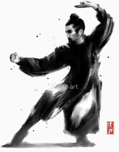 ILYO-art is an independent artist creating amazing designs for great products such as t-shirts, stickers, posters, and phone cases. Qigong, Folk Religion, Asian Tattoos, Taoism, American Pride, Tai Chi, Kung Fu, Chinese Art, Karate