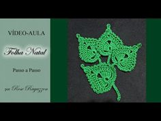 FOLHA DE CROCHE TRIPLA /FICHA CROCHE TRIPLE /CROCHET SHEET TRIPLE - ARTS CRISTINA - YouTube