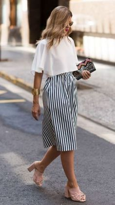 15 Cute Summer Work Outfits Appropriate For The Office - - Outfits Women Office Outfits Women, Mode Outfits, Trendy Summer Outfits, Spring Outfits, Office Outfit Summer, Summer Wardrobe, Summer Work Fashion, Professional Summer Outfits, Style Summer