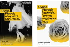 Cystic Fibrosis Trust Logo and Identity i love this, it's simple but clever and looks good.