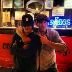 Norman Reedus & Jon Bernthal @ the Good Dog Bar in Philly