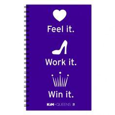 Kim of Queens Feel It Work It Win It Journal