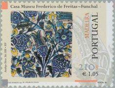 Stamp: Tegels (Madeira Islands) (Tiles of Madeira) Mi:PT-MD 203,Yt:PT-MD 210,Afi:PT 2602
