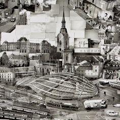 """Diorama Maps of Bern, Switzerland"" by photographer Sohei Nishino. Thousands of photographs in various angles"