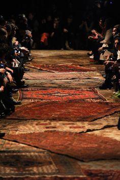 oriental carpet wedding aisle runner - Google Search