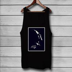 Ray Charles Silhouette Custom Tank Top T-Shirt Men and Woman