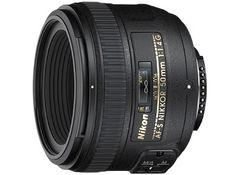 Nikon AF-S NIKKOR 50mm f/1.4G  (filter 58mm)