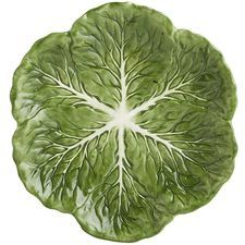 Cabbage Leaves Salad Plate