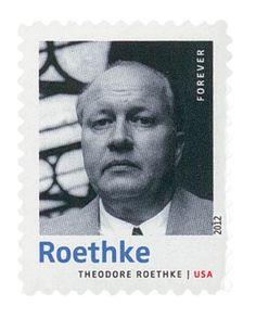 2012 45c Theodore Roethke-20th Cent.Poet - Scott # 4663