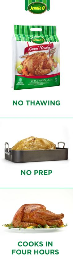 Giving your family the bird doesn't have to be stressful. JENNIE-O® OVEN READY™ Turkey is pre-seasoned for perfect prep-free flavor every time. Best Chicken Recipes, Great Recipes, Soup Recipes, Dinner Recipes, Favorite Recipes, Amazing Recipes, Mexican Food Recipes, Vegetarian Recipes, Fresh Salad Recipes