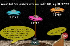 """Arithmetic Invaders: Grade 3 - FREE for a limited time. Kids earn the title """"Defender of the Solar System"""" while practicing math! 3rd Grade Math, Math Class, Grade 3, Free Math Apps, Subtraction Games, Multiplication Games, Math Problems, Blended Learning, Educational Websites"""
