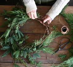 Handmade Winter Wreath