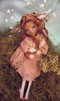 Fawn Monster High custom Repaint by Nickii by Nickiis4gottenDolls