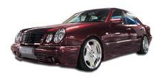 1996-1999 Mercedes E Class W210 Duraflex LR-S Body Kit - 4 Piece - Includes LR-S Front Bumper Cover (103491) LR-S Side Skirts Rocker Panels (103492) LR-S Rear Bumper Cover (103493)