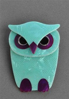LEA STEIN BUBA OWL BROOCH | eBay