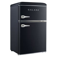 Galanz 3.1 cu ft Retro Mini Fridge - Blue GL31BEE : Target