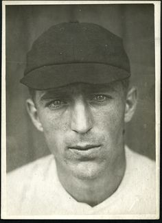 """Fred """"bonehead"""" Merkle Type 1 Photo by Paul Thompson used for his card. New York Giants, Type 1, Photos, Pictures"""