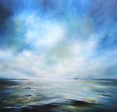 """Visions in Blue"" by Alison Johnson | Artfinder"