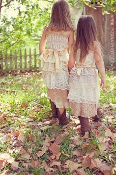 Sara flower girl dresses deposit x 4 by amandarosebridal on Etsy, $140.00