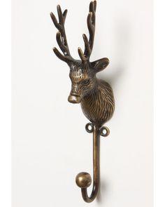 deer hook #anthropologie