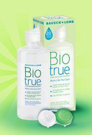 Free sample of Bausch + Lomb Biotrue Contact Lens Solution    http://ginaskokopelli.com/free-sample-of-bausch-lomb-biotrue-contact-lens-solution/