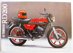 1979 Yamaha RD200 Brochure - front cover
