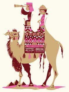 Cibo Matto Poster   Illustrator: Anne Benjamin
