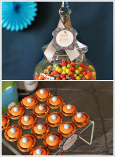 Use Trix cereal in apothecary jar