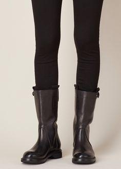 Rick Owens Biker Boot (Black)