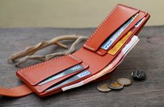 Leather Wallet Mens Wallets Men's Leather Wallet
