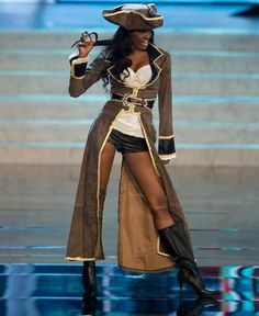 MIss Universe National Costumes 2012  MIss Bahamas  Sexy Pirate
