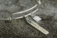 Love these charm bangle bracelets